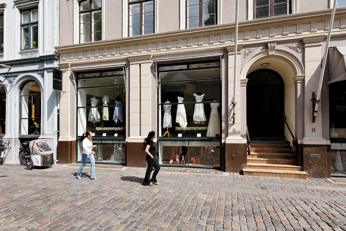 the shop in Copenhagen