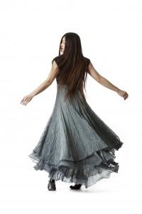 """Selskabskjole: """"Felicia"""" shiffon kjole"""