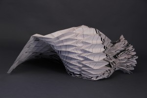 paper sculpture, charlotte østergaard